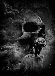 ideas for wall paper rose e cinza Evil Skull Tattoo, Skull Tattoo Design, Skull Tattoos, Body Art Tattoos, Rauch Tapete, Inka Tattoo, Arte Lowrider, Grim Reaper Art, Totenkopf Tattoos