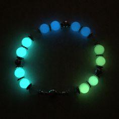 Luminous Glow & Rose Quartz Bead Bracelet