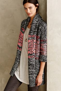 Venice Twilight Cardigan || Cynthia Vincent