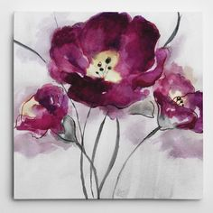 Found it at Wayfair - 'My Magenta I' by Nan Painting Print on Wrapped Canvas
