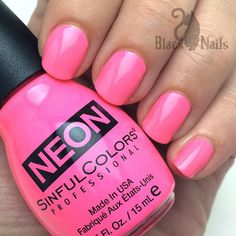 Sinful Colors Bright to the Point - New Neons