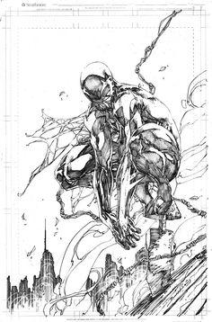 Spiderman 2099 by Brett Booth