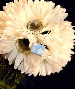 Perfect for the big day - your something BLUE!  $12    handmade necklace pendant.