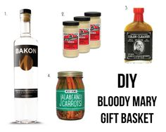 DIY Bloody Mary Gift Basket  Holiday Gift Guide: Gifts for a Bloody Mary Connoisseur