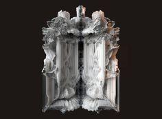 digital grotesque: full-scale 3D printed room realized - designboom   architecture & design magazine