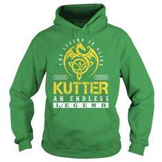 The Legend is Alive KUTTER An Endless Legend - Lastname Tshirts