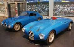 Simca-Gordini 1500 20S coupe and 15S roadster