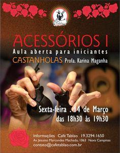 El Cajón Flamenco: Aula aberta de castanholas para iniciantes no Café...