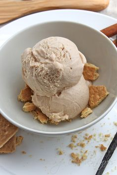 Cinnamon Honey Vanilla Ice Cream
