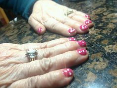 @OPI Nail  #pinkflamenco #lightsofemeraldcity #gelcolorglittercoat Nails by Elizabeth at @austinspringsspa