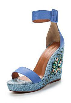 Босоножки Vitacci, цвет: синий. Артикул: VI060AWECH36
