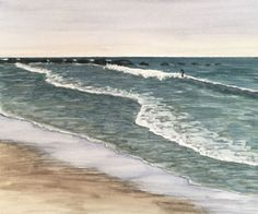 Tips and tools that prove invaluable when painting ocean waves in watercolor