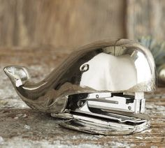 so cute! a whale stapler would make me crack a smile at work everyday :)