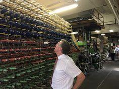 Langhorne Carpets British Wool Marketing Board Representative Visits Carpet Companies