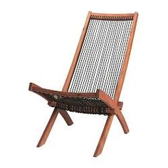 IKEA - BROMMÖ, Chaise, outdoor, Easy to fold up and put away. $49.99
