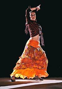 9bc487518 Maria Bermudez performs Gypsy flamenco dance at 8 p.m. Friday at the  Edmonds Center for the