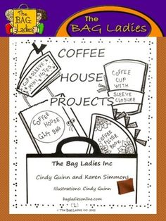"""Coffee House"" Mini-Unit by The Bag Ladies!!"