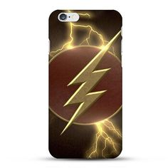 DC comics The Flash Customized Hard Plastic Phone Case for iPhone and Samsung