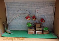 The Secondary Classroom can be fun too.....: Angry Birds Shoebox Edition.... the amazing results!