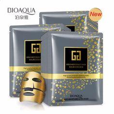30g * 5pcs BIOAQUA Brand Facial Mask Gold Above Beauty Hydrating Moisturizing Face Mask