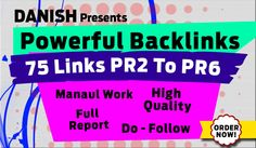I will increase your site ranking with Powerful Backlinks on pages PR2 To PR6
