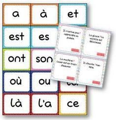 Un petit jeu de cartes pour travailler les homophones grammaticaux. Ce jeu peut être modulé en fonction des homophones étudiés. J'ai pensé à trois variantes de règles pouvant être appliquées:…