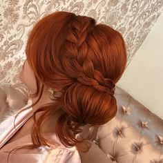 Redhead Hairstyles, Bride Hairstyles, Pretty Hairstyles, Long Red Hair, Velvet Hair, Wedding Hair Down, Dream Hair, Ginger Hair, Rainbow Hair