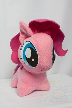 Chibi Pinkie Pie MLP artesanal personalizada hecha a mano felpa