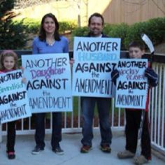 Another family against Amendment One
