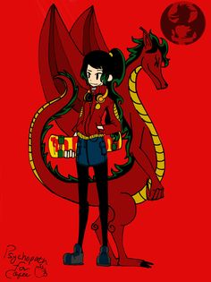 American Dragon genderbenders | American Dragon Jake Long Gender Swapped. Jenny Long!Submission to ...