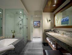 Cool Bathrooms 07cmm / spaceworkers | blue tiles, tile design and blue bathroom decor