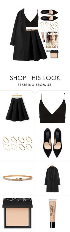 """yoins"" by vogueordie ❤ liked on Polyvore featuring Topshop, ASOS, Zara, NARS Cosmetics, philosophy, women's clothing, women, female, woman and misses"