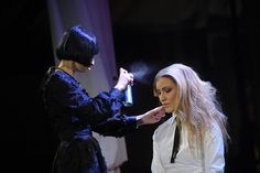 Giusy D'Onghia - Art Director of @kultohairacademy OnStage #ShowEntropia