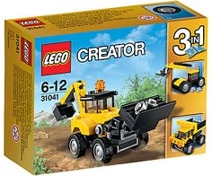 LEGO Creator 31041 3-in-1 Construction Vehicles