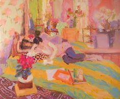 Women in Paintings by British Artist Hugo Grenville