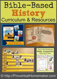 Bible Based History Homeschool - Curriculum and resources to teach history using the Bible