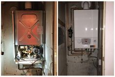 New Alpha boiler installation yesterday. You can check out our range of boilers at www.bigboilershop.co.uk #sheffield #boilerinstallation #heating