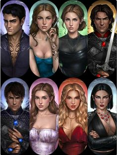 A Court Of Wings And Ruin, A Court Of Mist And Fury, Fan Art, Sara J Maas, Feyre And Rhysand, Sarah J Maas Books, Crescent City, Look At The Stars, Book Aesthetic