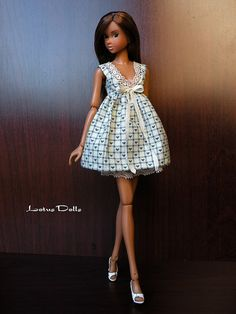 Sweetheart - Handmade dress for Momoko dolls