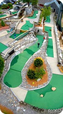 Mini Golf, Go Karts, Batting Cages (must wear a helmet), Arcade and a Driving Range - all it Litchfield, New Hampshire