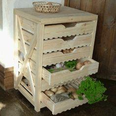 Fruit and Veg- Storage-Apple racks- Veg racks