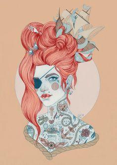 Área Visual - Blog de Arte y Diseño: Las ilustraciones de Liz Clements