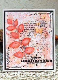 Scrap Plaisir shannon91: DT Scraposphère : carte d'anniversaire pour Marion