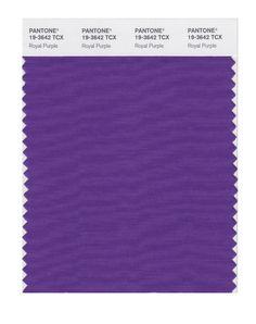 Pantone Smart Swatch 19-3642 Royal Purple. Tip - for suits, blazers .,,