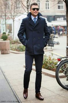That is a real man's style...damn.