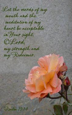 Psalms 19:14