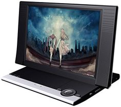 Sylvania SDVD1256 11.6-Inch Portable DVD Player with USB and SD Card Reader.  With the included AC adapter and Car Adapter, take this amazing DVD Player in the car, hotel, dorm room or home! Not only can you play your favorite DVD collections on this player…you can even plug in any USB or SD Card with your digital entertainment and play it right on the beautiful 11.6″ screen.