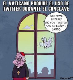 Conclave e Twitter