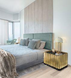 Bedroom Color Schemes for Springtime www.bocadolobo.com #bocadolobo #luxuryfurniture #exclusivedesign #interiodesign #designideas