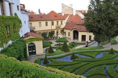 The Vrtba Garden is situated on the slope of Petřín Hill and is one of the most precious and beautiful of Prague's Baroque gardens.